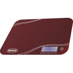 Kuchynská váha Bravo B 5061 červená