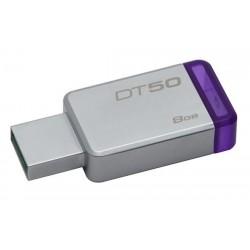 Kingston 8GB DataTraveler DT50 (USB 3.0) - kovový/fialový