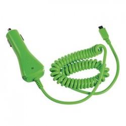 CL autonabíjačka CELLY s konektorom microUSB, 1A, zelená