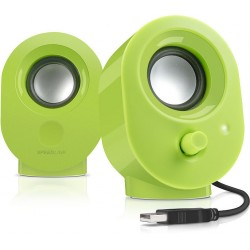Speedlink SNAPPY Stereo Speakers - green