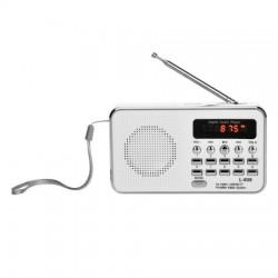 Bravo B 6039 digitálne rádio Sam, biela