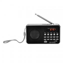 Bravo B 6039 digitálne rádio Sam, čierna