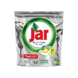 Jar Platinum Lemon tablety do umývačky riadu 36 kusov