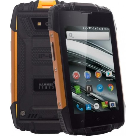 MY PHONE HAMMER TELMYAHIRON2OR oranžovo-čierny